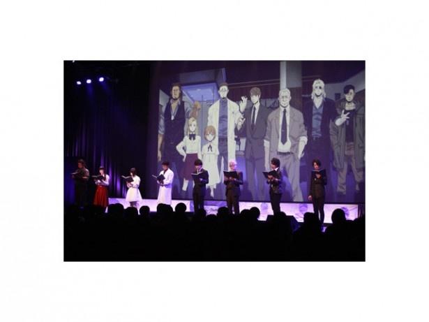 声優の諏訪部順一、津田健次郎らが登壇したアニメ「GANGSTA.」のスペシャルイベントをリポート!