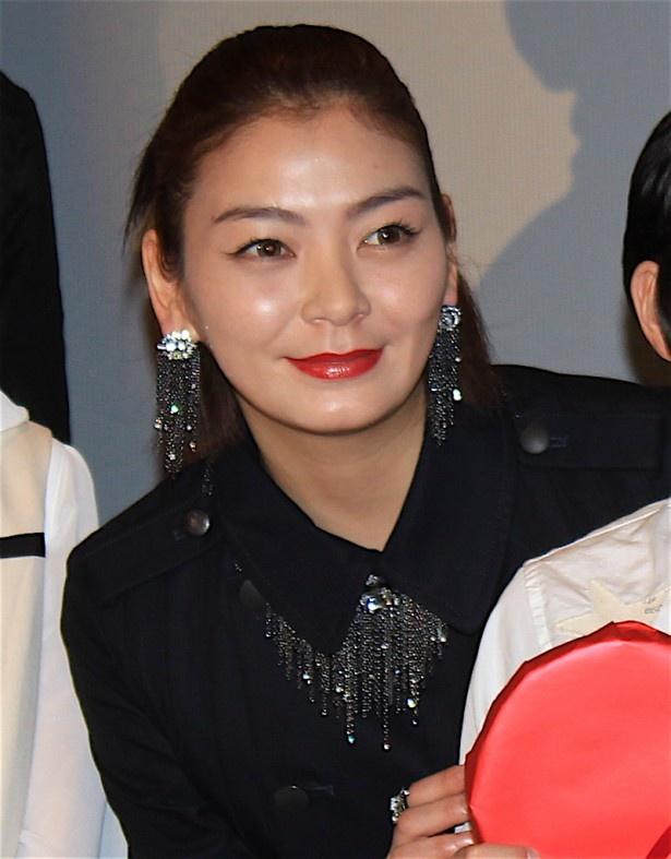 笑顔を見せた田畑智子