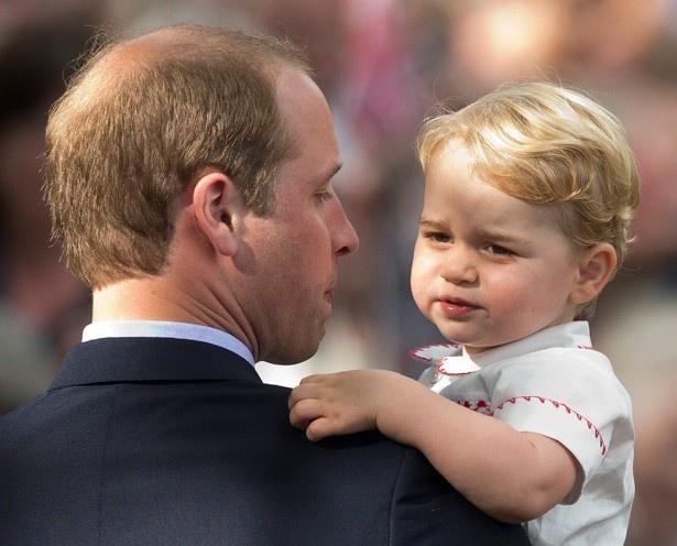 あっという間に幼稚園に馴染んだというジョージ王子