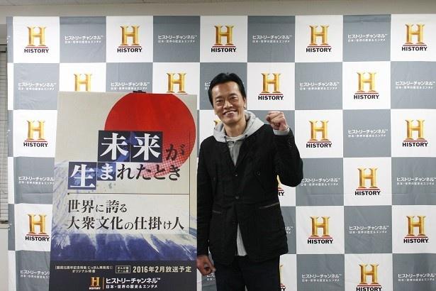 CS放送ヒストリーチャンネルの特別番組でナレーターを務める遠藤憲一