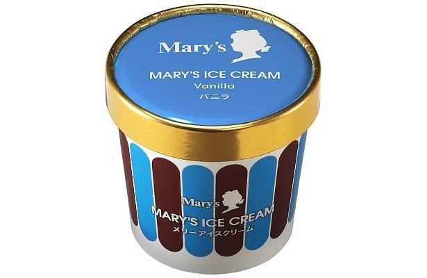 メリーアイスクリームの「バニラ」はホワイトチョコレート仕立て