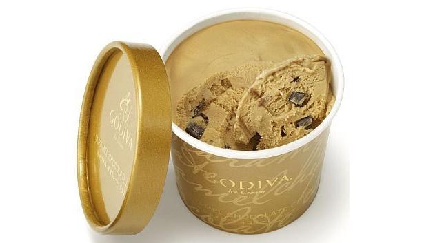 ことし発売された「ゴディバ」のキャラメルチョコレートチップ