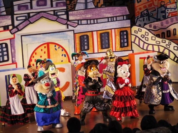 新作ミュージカルショー「ドンキホーテのA B C D ESPAÑA!~アー・ベー・セー・デー・エスパーニャ!~」