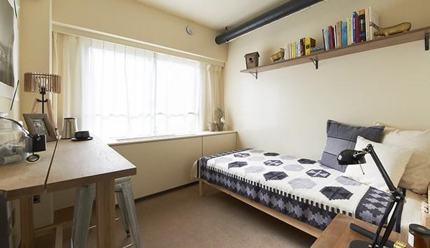 プライバシーをしっかりと守れる個室※写真はUDSが運営する京都のシェアハウス