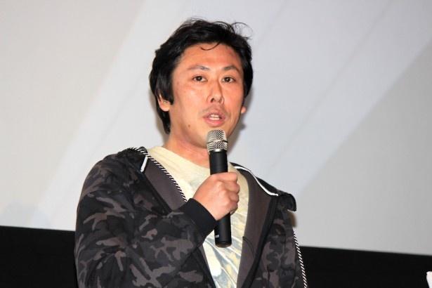 メガホンをとった山口雄大監督