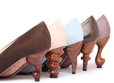 猫脚ヒールも!多彩なヒールが超キュートな「ちゃけちょけ」の靴