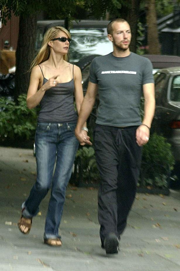 【写真を見る】まだ結婚する前のクリスとグウィネス