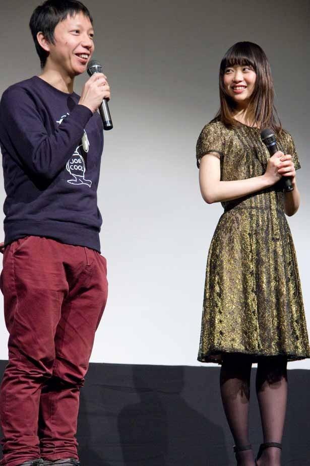 森川や小関の演技について、「のびやかに彼らがやっているのを楽しんで撮影できた」と語った内藤監督