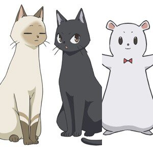 春アニメ「ふらいんぐうぃっち」使い魔キャストに茅野愛衣、佐倉綾音、小澤亜李が決定