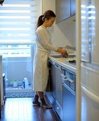 オープン収納だから調理が驚くほどスムーズ!Emiさんちのキッチン
