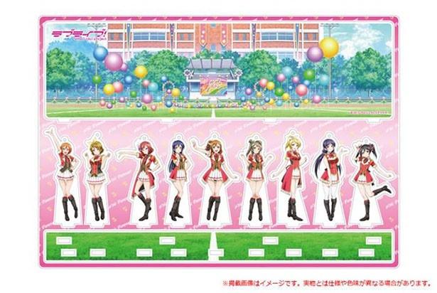 「ラブライブ!」セレクトショップが大阪初進出!オリジナルグッズやフードコラボを取り扱い