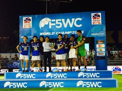 世界最大の5人制アマチュアサッカー大会で準優勝に輝いた「TamaChan」