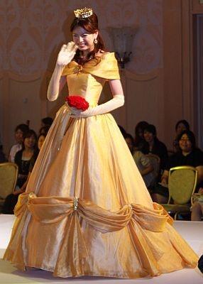 『美女と野獣』をイメージしたドレス 【ほかドレス画像】