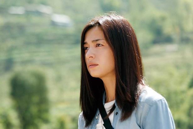 ヒロイン役で出演し、タフさを見せた尾野真千子