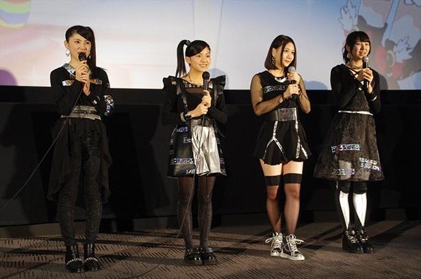 映画「プリパラ」公開直前の親子試写会にSKE48のメンバー登壇!