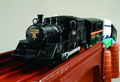 カッコイイ!プラレール50周年記念「C12蒸気機関車アーチ橋」