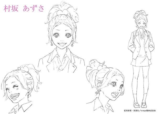 夏アニメ「orange」のキャラクター設定画第1弾が解禁!