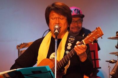 声優の井上和彦が率いる「声援団」が、5年目の3.11もチャリティーライブを行った