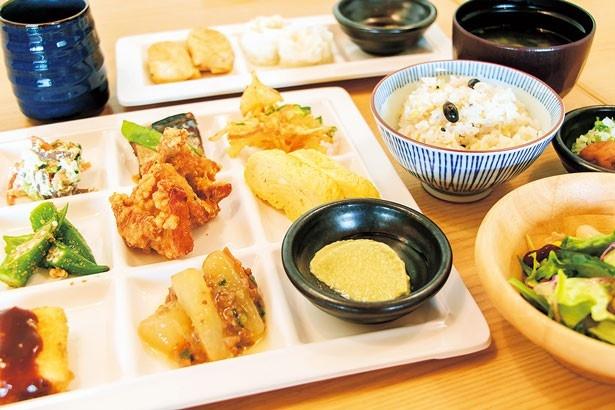 「健康美食 豆の花」(イオンモール堺鉄砲町)健康美食をテーマにしたビュッフェレストラン