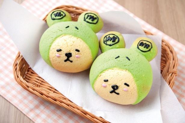 かわいくて、おいしいキャラクターパン「守犬メロンパン」(350円、常磐自動車道・Pasar守谷上り)