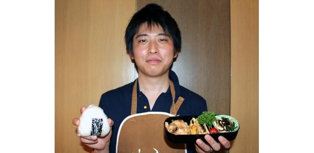 「やっぱり自分で作った弁当はうまいです!」と清塚さん