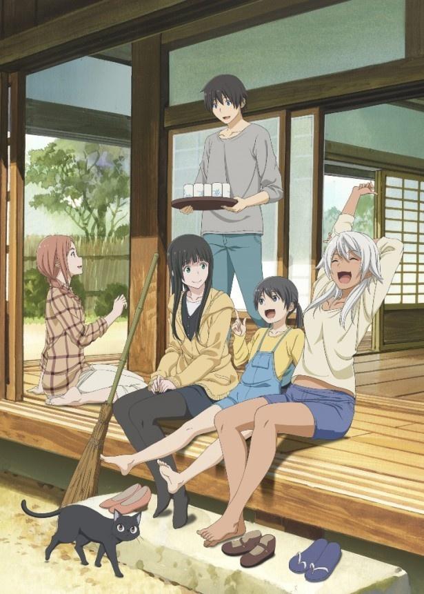 「ふらいんぐうぃっち」BD&DVD第1巻は6月22日発売。ジャケットが解禁!