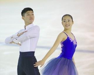今季急成長を見せている深瀬理香子・立野在組。東日本ジュニア選手権でのショートダンス