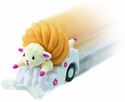 7/8から登場するミスタードーナツの「フレンチウーラー チョロQ」。キッズセットは好きなドーナツ+キッズドリンク+おもちゃ2つで650円