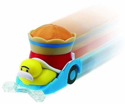 7/22登場予定の「マフィンガメ チョロQ」。各キャラクターともポップンカーバージョンもある。おもちゃはいずれも単品で300円だ