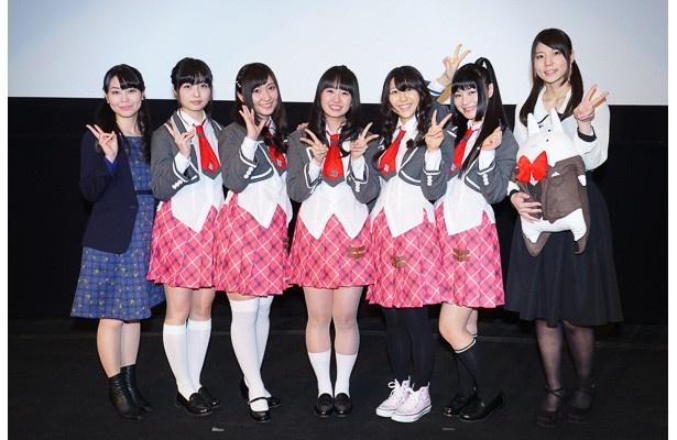 「あんハピ♪」先行上映会はアニメと同じく不幸女子だらけ!?