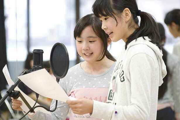 小・中学生のための声優養成所が無料体験レッスンを開催