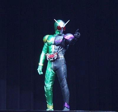 これが仮面ライダーWだ!
