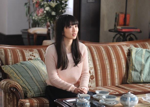 尼寺で育った養女・櫻香を演じる志田未来