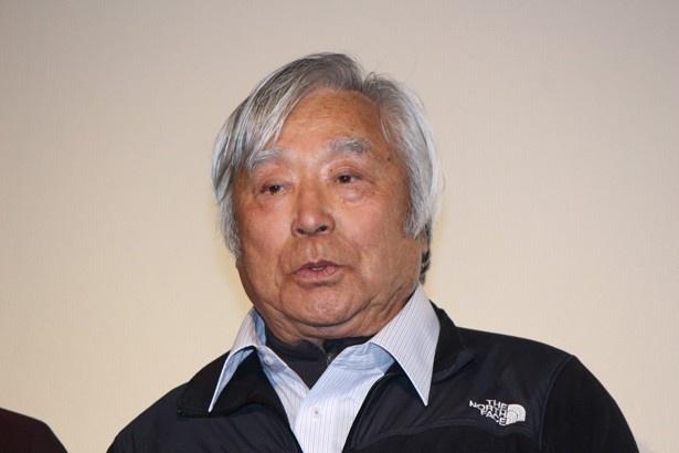 ギネス記録を持つ三浦雄一郎。岡田の演技を大絶賛