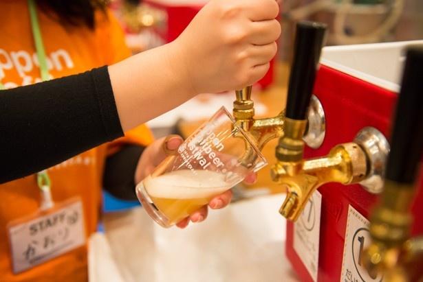 樽生でサービスされるクラフトビールは一味違う
