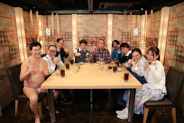 4月6日(水)にタカアンドトシやとにかく明るい安村らが出演する「帰ってきた帰れま10 【つるとんたん編】」を放送
