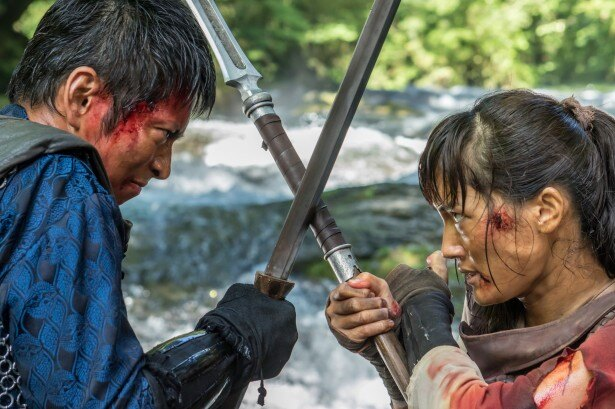 3月26日(土)放送ではバルサがチャグムを狙う狩人のジン(松田悟志)と死闘を繰り広げる