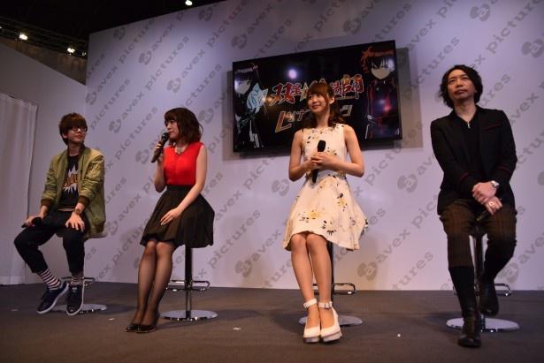 どちらの共鳴が強い!?「双星の陰陽師」ステージで花江&潘ペアと芹澤&諏訪部ペアが激突!【AnimeJapan 2016】