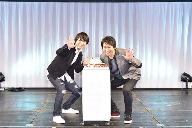 神谷浩史と井上和彦が「夏目友人帳」5期をお祝い!【Anime Japan 2016】