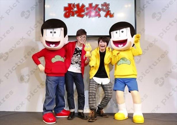 リアルおそ松と十四松の登場に沸きに沸いた「おそ松さん」ステージ【AnimeJapan 2016】