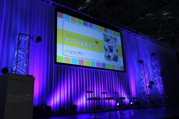 高田憂希、日笠陽子らキャスト陣がお披露目!!「NEW GAME!」ステージ【AnimeJapan 2016】