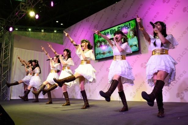 至近ステージでファン大興奮!Wake Up, Girls!ステージ【AnimeJapan 2016】