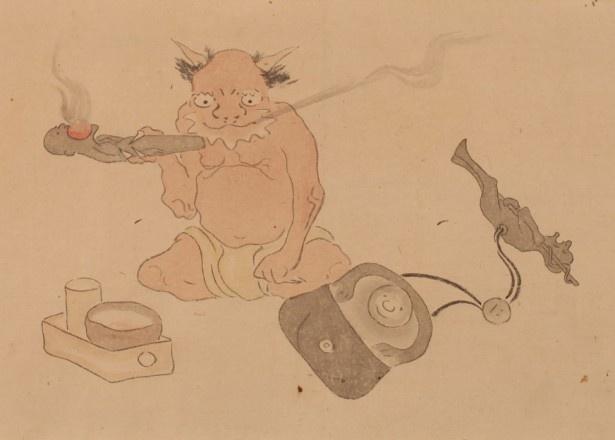 地獄で人間が責めさいなまれる姿を描く「別世界巻」