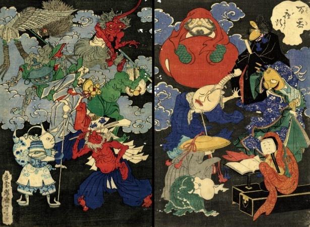 器物の妖怪の江戸的変化「百器夜行」
