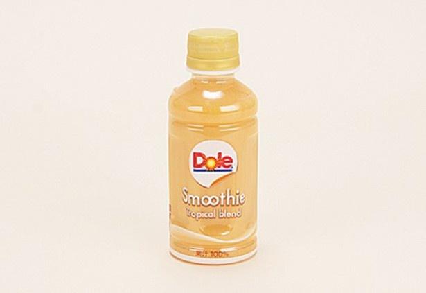 【写真を見る】南国風の味わいに仕上げた果汁100%「Doleスムージー トロピカルブレンド」(192円)