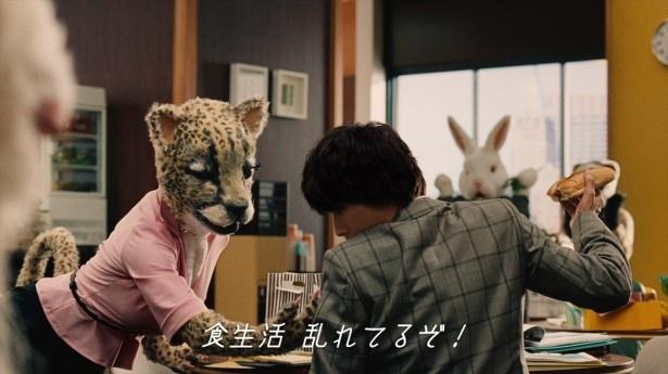 センパイ写真から優しく注意される山崎