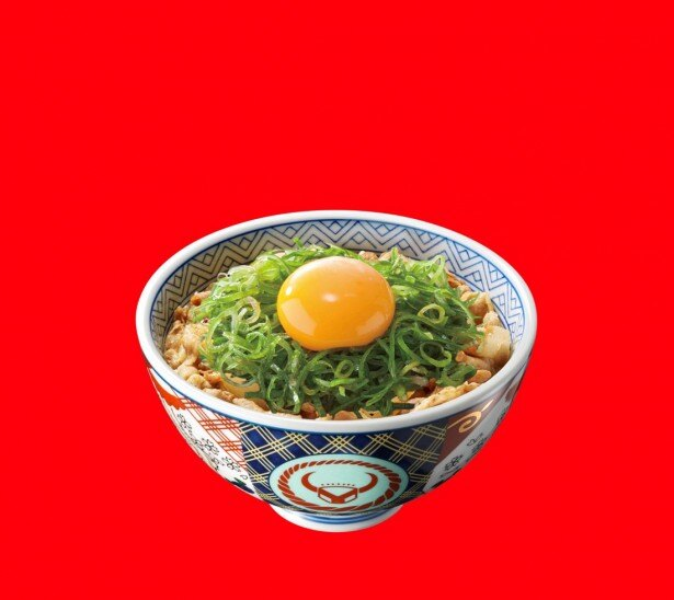ネギと卵をかき混ぜてガッツリ味わいたい「豚ねぎ玉丼」(430円)