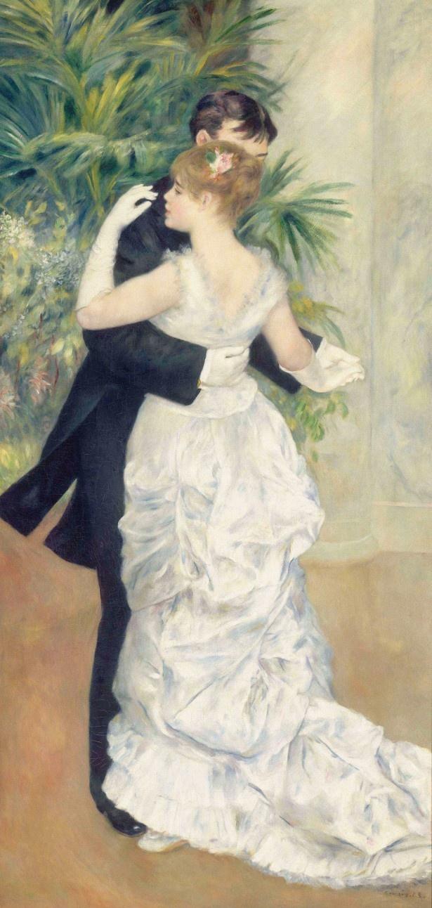 シルクの夜会服をまとう女性は、のちに画家として活躍するシュザンヌ・バラドン「都会のダンス」