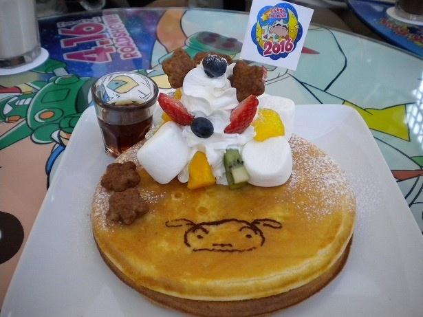 「シロのふわふわパンケーキ」はシロの顔がキュート