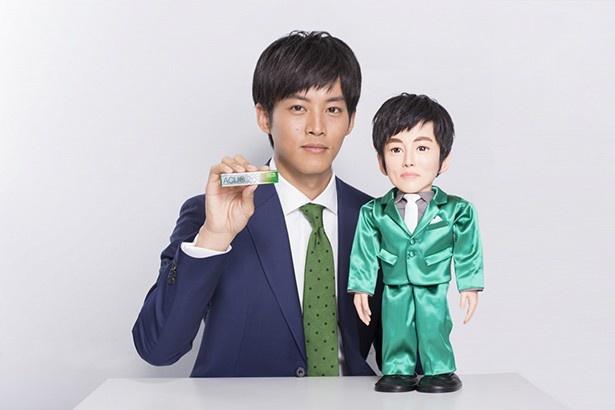 松坂桃李が出演するロッテガム「ACUO」の新テレビCM「トーリロボ」篇は、4月5日(火)より全国でオンエアされる